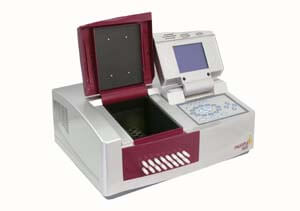 split-beam spectrophotometer