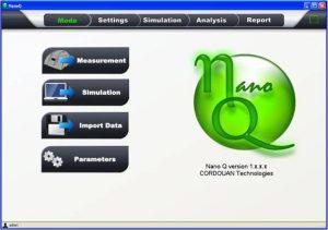 nano particle software