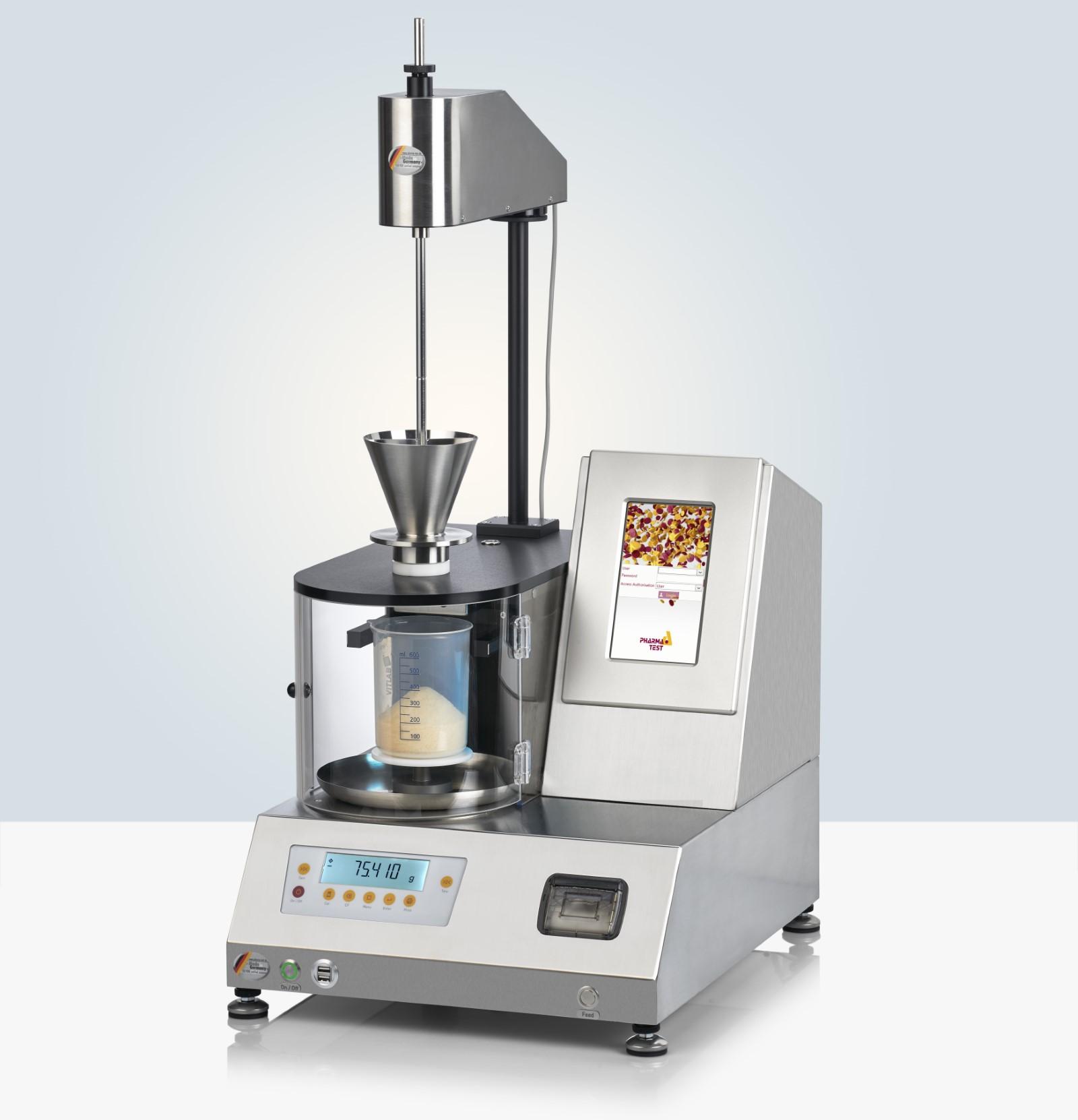 PTG-S4 Powder Flow Analyzer